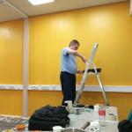 Tommi maalaa